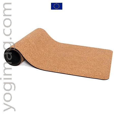 Tapis de yoga liège fabriqué en Europe