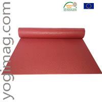 Tapis de yoga rouge