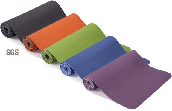 Tapis de yoga recyclables légers eco-durable TPE