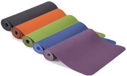 Tapis de yoga TPE pour yogas dynamiques et intensifs