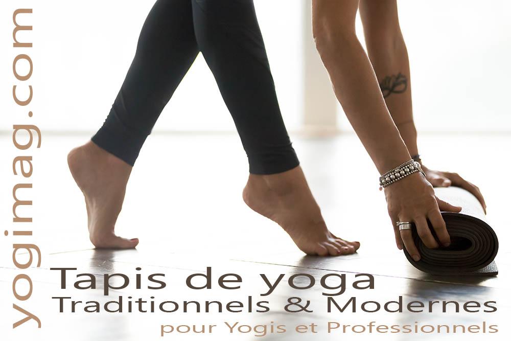 Tapis de yoga traditionnels et modernes Yogimag