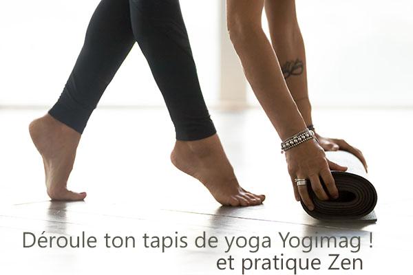 Tapis de yoga Yogimag