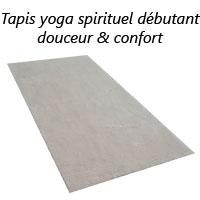 Tapis yoga débutant spirituel