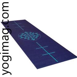 Tapis de yoga pour débutant alignement yogimag