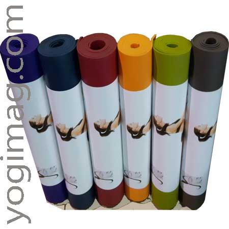 Tapis de yoga antiglisse studio pro - Yogimag