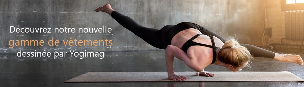 Vêtements de yoga, sport et fitness de la boutique Yogimag