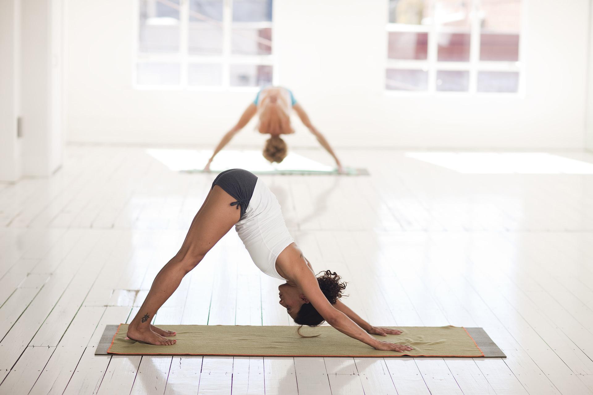 Serviette de yoga antidérapante