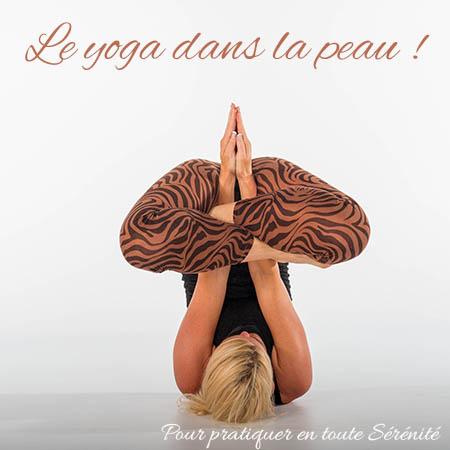 Le yoga dans la peau
