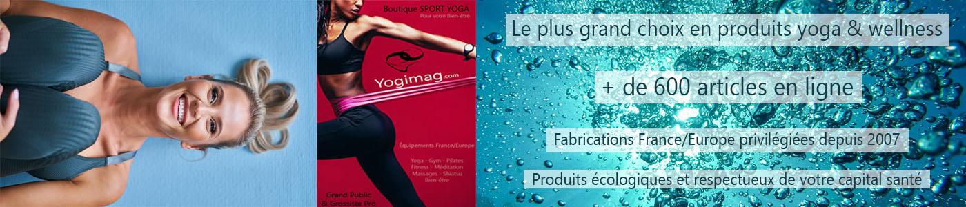 Yogimag : boutique yoga pour le bien-être et la santé
