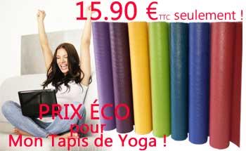 yogimag tapis de yoga promotion prix économique pas cher
