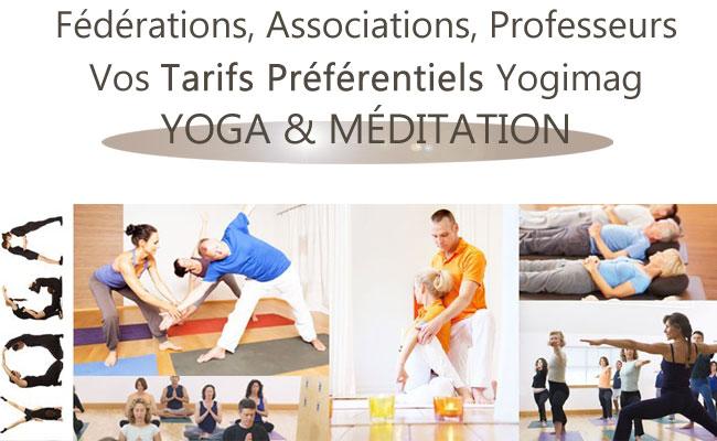 Yogimag lots associations yoga méditation