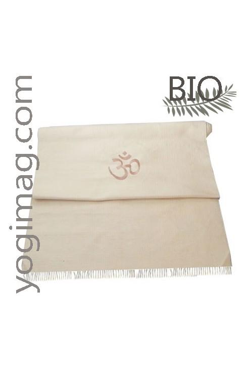lot tapis de coton bio 233 cru kundalini pro yogimag