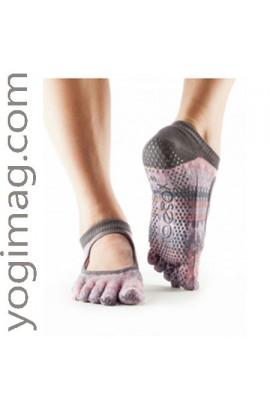 Chaussettes Ballerine Yoga Bio Toesox