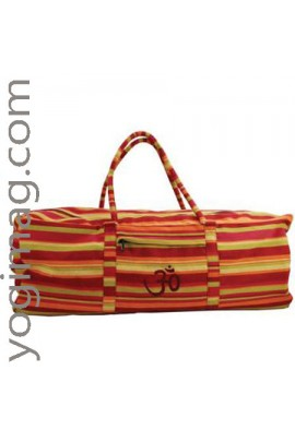 Sac de Yoga Indien Orange Ethnique
