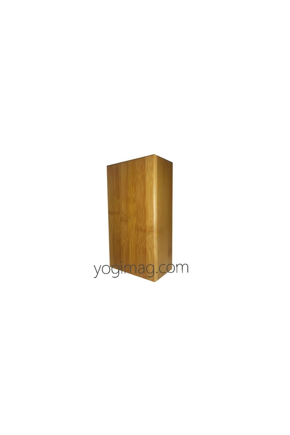 brique de yoga iyengar en bois professionnelle. Black Bedroom Furniture Sets. Home Design Ideas