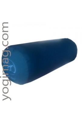 Bolster Yoga Coton BIO Bleu pétrole