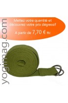 Lot Sangle Yoga Olive Pro