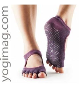 Chaussettes yoga & mitaine de pied