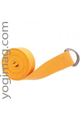 Sangle yoga en coton naturel eco 38mm standard