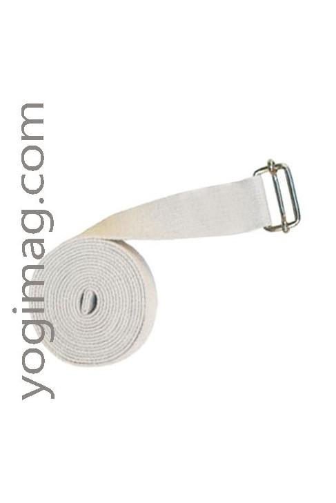 Sangle de Yoga en coton naturel eco 38mm XL