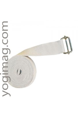 Sangle de Yoga en coton naturel eco 38mm XL