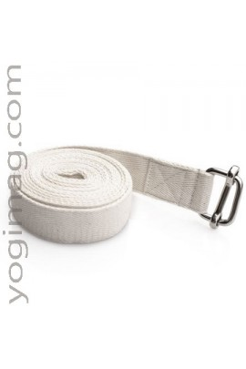 Sangle de Yoga en coton naturel 25mm