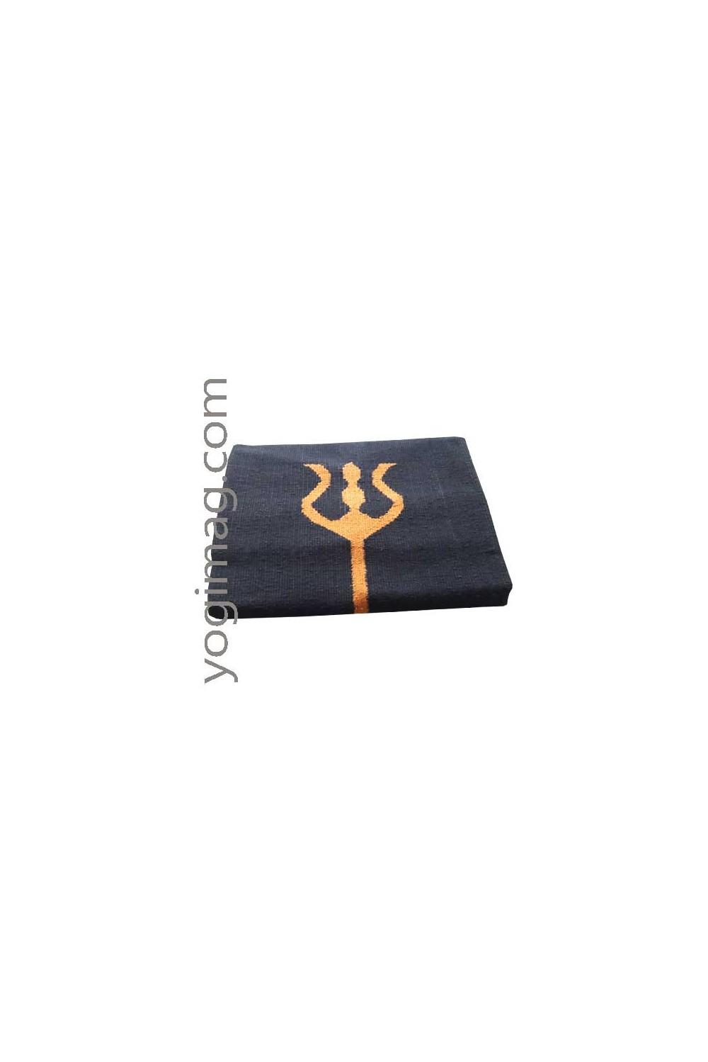 Tapis Yoga 100 Coton Naturel Et Son Trident