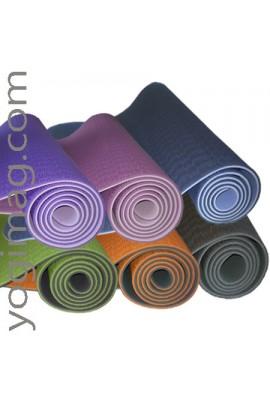 Tapis de Yoga TPE Aubergine Sérénité