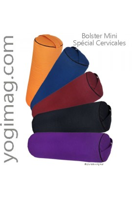 Lot Mini Bolsters Yoga Cervicales 38x14cm
