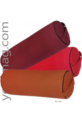 Lot bolsters de yoga en fibres kapok professionnels