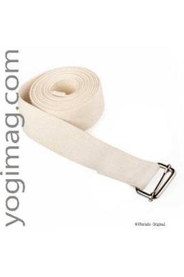 Sangle yoga spécifique pour exercices solide - Yogimag