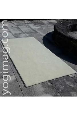 Grand Tapis de yoga en laine Bio certifiée spécial activités zen