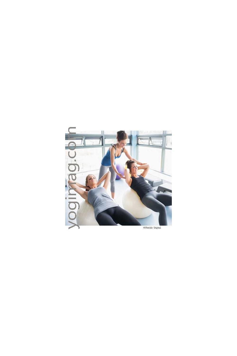 ballon de gym yoga swiss ball sp cial exercices securemax 65cm. Black Bedroom Furniture Sets. Home Design Ideas