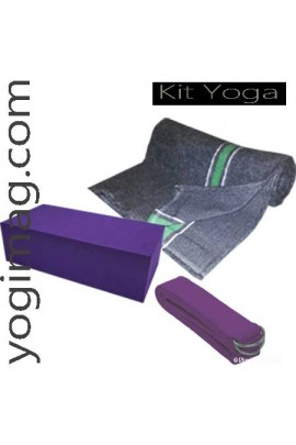 Kit accessoires de yoga Sérénité
