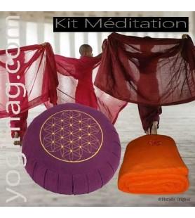 Kit d'Accessoires de Méditation Sérénité