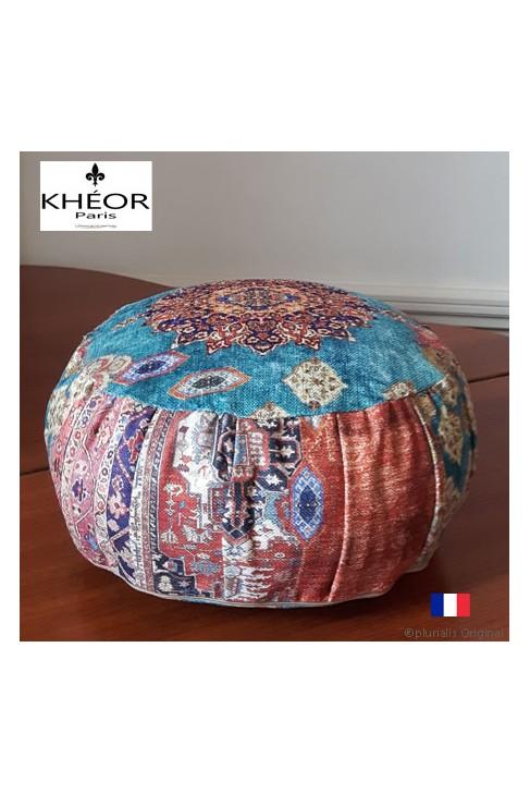 Coussin Luxe Déco & de méditation chic Khéor Paris - Style Bohème