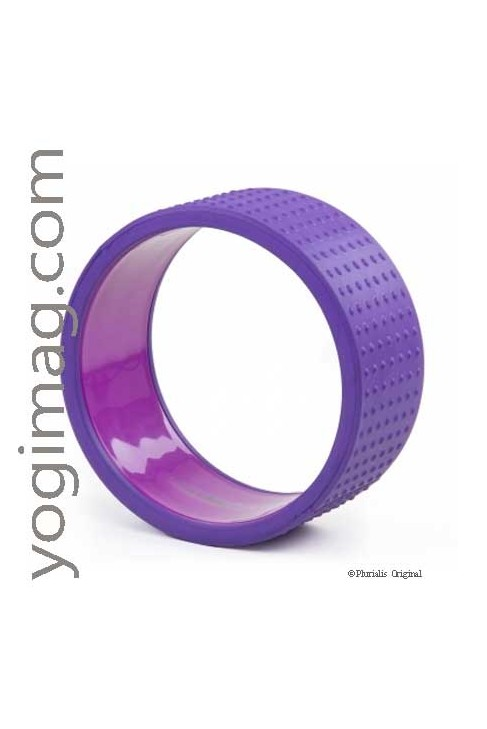 Yoga Wheel, l'accessoire Postures Multiples Yogi