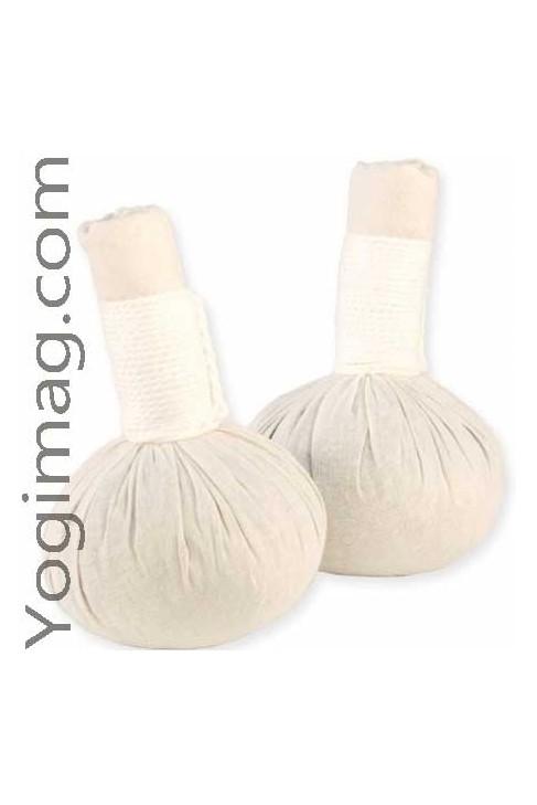 Tampons de Massage Corporel aux herbes naturelles - Lot x2