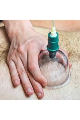 Ventouses de massage en verre épais pour vacuothérapie