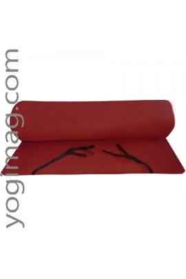 Tapis de yoga méditation bordeaux - Promo