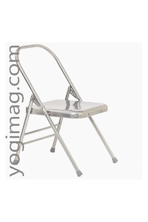 chaise de yoga stable solide postures mat riel yoga yogimag. Black Bedroom Furniture Sets. Home Design Ideas