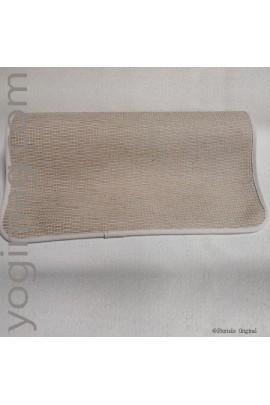 Tapis de Yoga caoutchouc et jute idéal pour le kundalini