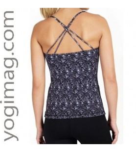Top Yoga avec soutien gorge intégré