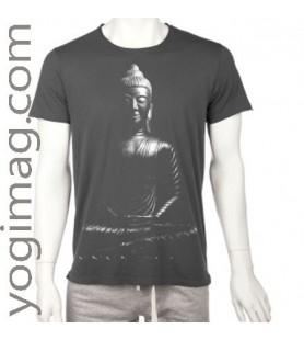 T-shirt Yoga Homme en Coton Bio Buddha