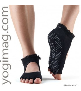 Chaussettes yoga Toesox mi orteil style ballerine