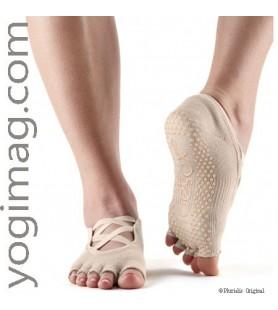 Toesox Chaussettes Yoga Nude Mode et Tendance