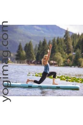 Planche paddle yoga