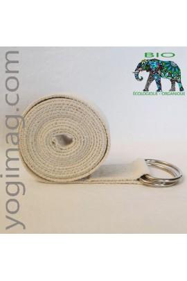 Sangle de Yoga Bio en coton organique écologique