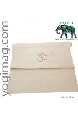 Tapis de yoga bio en coton d'Inde natte ÉCO épaisse standard