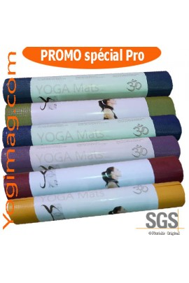 Lot tapis de yoga Pro antidérapant ECO